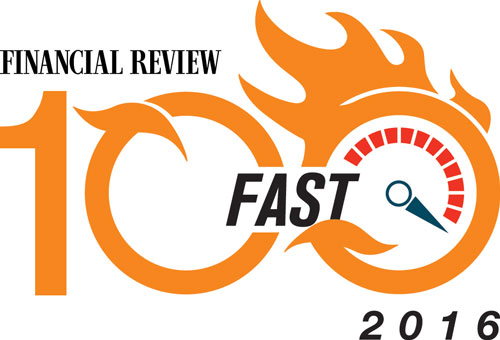 2016 Financial Review Fast 100 2016