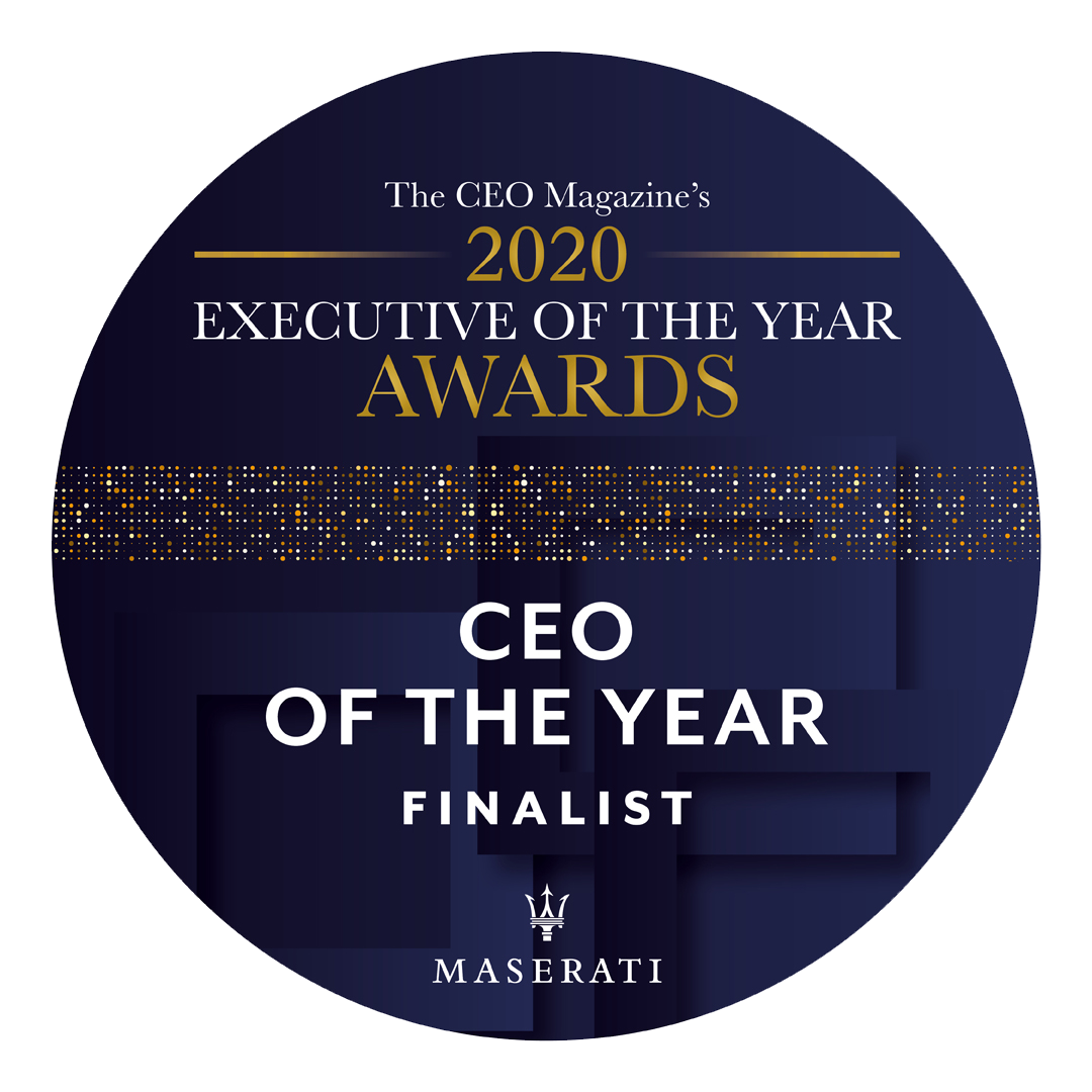2020 CEO of the Year finalist – Executive of the Year Awards 2020