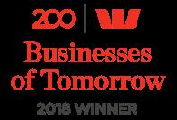 2018 Winner Westpac 200 Businesses of Tomorrow